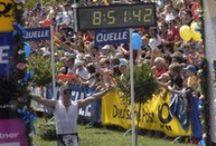 Triathlon Success / Motivating pictures of triathletes achieving success in their triathlons.