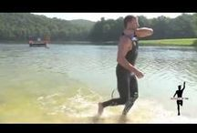 Swimming Tips for Triathletes / Swimming is often the toughest of the three sports - swim, bike and run - in triathlon for triathletes to master. Here are tips to help make you a better swim to go faster in your triathlon.