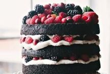 Cake and dessert finishes / Simple cake decorating ideas