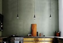 Kitchens / The heart of the home, and the start of lots of mood boards