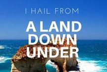 I hail from the land down under / Australian Made & Owned organic at home day spa products.