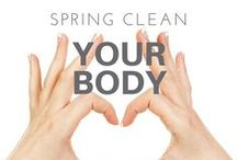 Spring Clean Your Body! / Spring clean your body from the outside with Australian made and owned organic at home day spa products. @premiumspaaus