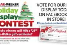 2014 Holiday Contest / Take a look at the entries, then head over to Facebook or your store to vote for your favorite! https://www.facebook.com/BaneWelkerEquipment
