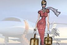 SOCIALITE ™ ✈ FIRST CLASS VOYAGE ✈ / ✈TERMINAL GLAMOUR -Check in at GLAM-PORT Cocktails & Champagne await you at FIRST CLASS LOUNGE, PERSONAL SHOPPING  at the FINEST AIRPORT BOUTIQUES.✈   G.L.A.M O.R.O.U.S First class up in a plane ( lyric's Fergie) / by ~~ THE SOCIALITE ~~ -DRESS-ME-SWEETIE-DARLING™