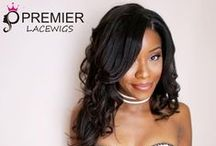 Customer's Show for Premier Lace Wigs / it is about the customer's photo review from www.premierlacewigs.com