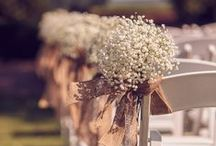 Rustic, shabby chic wedding ideas! / Fabulous ideas for a farm or barn wedding!  We love a bride in cowboy boots!!