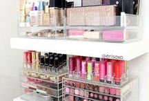 Makeup - Storage Ideas / How do you organise your makeup when you have a lot of it and not much space?