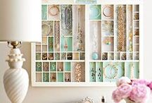 Jewellery - Storage Ideas / What can you do when you have a lot of jewellery? These are inspirational storage scenarios.