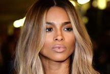 See Ciara Latest HairStyle / Ciara Ombre Honey Blonde Color Medium Bob Virgin Hair Lace Wigs http://www.premierlacewigs.com/ciara-ombre-honey-blonde-medium-bob-virgin-hair-lace-wigs.html