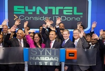 Syntel's NASDAQ Opening Bell ceremony / On August 23, 2012, Syntel was invited to ring NASDAQ 's opening bell, marking 15 years of being a public company.