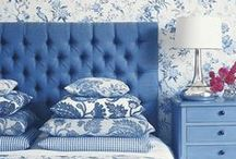 Distinction Inspired by Blue / Get inspired by blue furniture and interiors handpicked by Distinction Contract.
