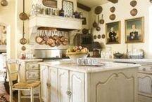 LA CUISINE / the kitchen / by Marilyn Cataldie