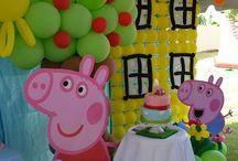Peppa y George party
