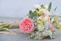 Bridal bouquets / Flowers by The Homegrown Flower Company