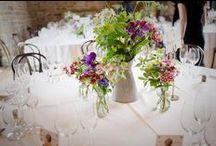 Table Arrangements / Table Arrangements by The Homegrown Flower Company