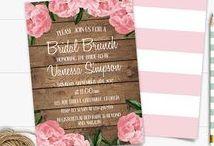 Bridal-Wedding Shower Printables