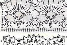 Crochet Edgings / Barrados Bordures de Finition