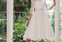 Louise Bentley Bridal / Some of the dresses in store from Louise Bentley bridal all available Tea Length too