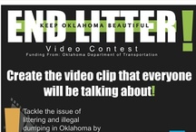 End Litter / End Litter is a video contest for high school and college students to submit a 30-second video clip about litter. Check out the submissions from previous years, and stay tuned to register next time! (Registration usually begins mid-August)