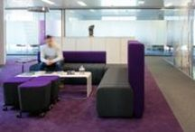 Office Breakout Areas / Breakout areas in offices are a great place to have informal meetings, recharge & take a break. Want an inspiring design for your office? Interaction are experts in design and build http://www.interaction.uk.com