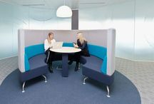 Office Design - Collaboration areas / Creating collaborative areas within the workplace to encourage the sharing of ideas amongst colleagues. Interaction passionately believe in designing  offices where people love to work http://www.interaction.uk.com