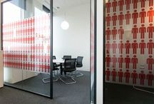 Glass Partitions / Glass partitions for offices