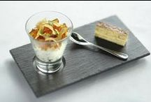 Dessert Me! / Slateware by Michael Caines