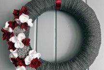 Wreaths / Every kind of decorative wreath for every time of year! Christmas and holiday wreaths. Spring wreaths, Summer wreaths, Fall wreaths. Many are DIY wreaths for the crafter in you!