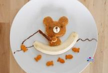 Food Art / A full collection of unique food designs that resemble everything from cartoon characters, nature, movies, inventions, toys, historical icons and rock stars-- you name it! Food Art is fun :) / by Ducks 'n a Row