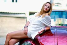 Woman and Cars / Ideen für FotoShooting