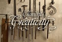 The Art of Tools / Graphics and design with an industrial vibe.