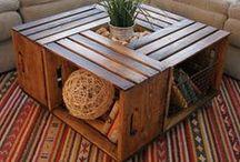 DIY - Furniture  / DIYs for furniture repairs and restorations.