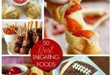 Tailgating Tastiness  / Recipe ideas for football season!