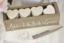 Weddings: DIY Details / Here weddings are rustic, crafty, clever, and ultimately uniquely yours!