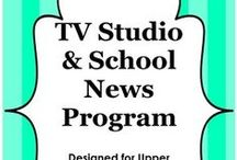 News Show at School / Ideas and Tools to make the school news show more fun and interesting / by Library Doctor