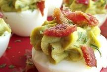 Eggs / Recipes featuring eggs! So much to choose from; you can have a different egg entree for breakfast every day for a whole month or more! Better yet, make breakfast for dinner! / by Ducks 'n a Row