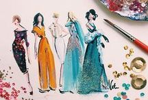 Fashion illustrations