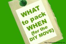 Moving & Packing / Helpful tips for a smooth move!