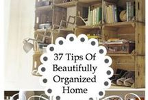 Organized Home / Organize your home and your life!