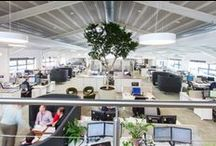 Corporate Office Design / Best office interior design ideas and corporate workspace fit-outs. We are passionate about designing workplaces that reflect the business and people who work there. Contact us http://www.interaction.uk.com