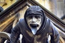 A ghoul of gargoyles, grotesques and statuettes