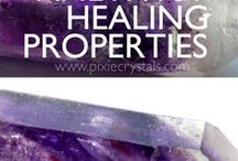 Crystal Healing Articles / Crystal Healing Properties.  Articles by me on www.PixieCrystals.com