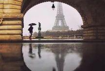 Paris / Vues de Paris: les quais de Seine, les gens, les ponts, les toits...