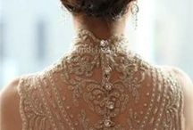 Weddings: My Pretty Dress / My Pretty Bride will be a touch vintage, a touch rustic, a touch romance, completely irresistible and memorable, and even a tad comfy. *sigh* Lastly, she would be  oh so lovely.