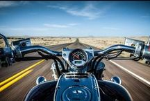 Big Bend On a Motorcycle