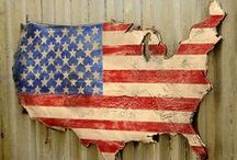 ♥ Handmade For USA ♥ / I am a crafter and of course love all things that feature great craftsmanship and unique originality. What is more inspiring than patriotism? If AMERICANA is also your ♥♥  & would like an invite - where this board will appear on your page - please follow me and send me a convo @ https://www.etsy.com/shop/MyDesertLoveDesigns ---- I need to follow you back and send you the invite! *** ONLY post items that are ♥ from your Etsy Store ♥ Hand-crafted ♥ Original ♥ Americana - Red, White, & Blue ♥