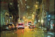 Jeremy Mann streets