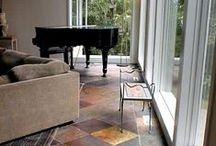 Kund Multi Color Slate Tile / Hardness: Medium Sealer: Recommended Application: Inside Walls, Inside Floors