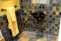 Jack Multi Color Slate Tile / Hardness: Medium Sealer: Recommended Application: Inside Walls, Inside Floors, Outside Walls, Outside Floors, Frost Resistant, Wet area