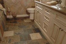 Indian Autumn Slate Tile / Hardness: Medium Sealer: Recommended Application: Inside Walls, Inside Floors
